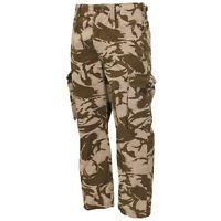 British Army Cargo Pants NATO Windproof GB Desert Camo Combat Trousers New