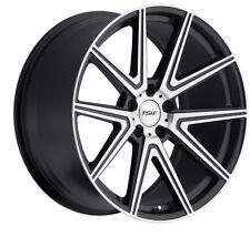 19x8.5/9.5 TSW Rouge 5x114.3 + 20 Gunmetal Rims Fits 350Z 370Z 240Sx G35 Coupe