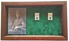 Large Medal Display Case for 5 - 7 Medals With Photograph