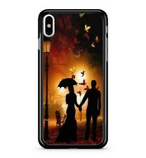 Just Married Love Birds Sunset Sky Majestic Butterflies 2D Phone Case Cover