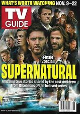 TV GUIDE MAGAZINE NOVEMBER 2020 - SUPERNATURAL FINALE - BRAND NEW - NO LABEL