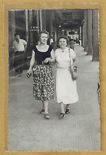 Carte Photo vintage RPPC Maroc Casablanca bvd de la Gare Crédit Lyonnais pz0174