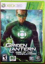 Xbox 360 Game - Green Lantern : Rise of the Manhunters