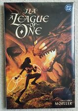 JLA: A League of One HC NM (DC, 2000) Moeller