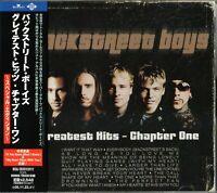 Backstreet Boys Greatest Hits Chapter One Japan CD OBI +BT