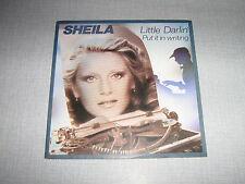 SHEILA 45 TOURS FRANCE LITTLE DARLIN