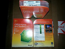 Microsoft Office Home and Student 2010, SKU 79G-02144, Full Retail Box,3 install