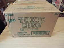 More details for toxic high school factory case of 24 boxes of stickers / cards