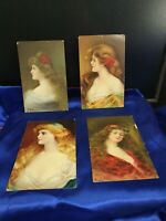 Victorian postcards lot of 4