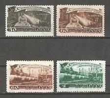 Russia/USSR 1948,Industries Coal Mining 5-Year Plan,Sc 1280-1283,VF MNH** V$210