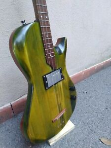 Cigar box guitar 3 corde solid body