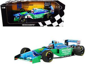 BENETTON FORD B194 #5 SCHUMACHER F1 GERMAN GP 1994 1/18 CAR MINICHAMPS 510942705