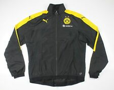 Puma Men's Borussia Dortmund BVB Vented Stadium Jacket 16/17 Black New Size XL