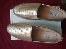Steve Madden womens shoes US size 11 Choppur Gold