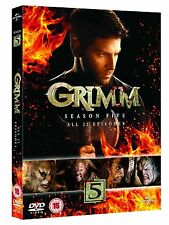 Grimm Season 5 Complete DVD BoxSet Region 2- Brand New & Sealed Free / Fast Post