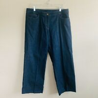 Eileen Fisher Women's NWT 5 Pocket Stretch Crop Jeans Size Large