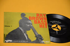 RAY BROWN BASS HIT EP TOP JAZZ ORIG ITALY '50 EX+