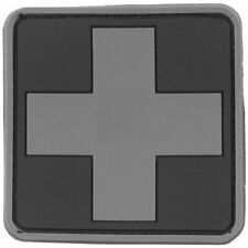 Viper 3d Subdued Medic Rubber Patch First Aid Health Emergency Sign Black
