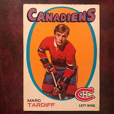 1971-72 O-Pee-Chee OPC Set MARC TARDIF ERROR #29 MONTREAL CANADIENS - VG