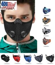 Summer Cooling Mesh Face Mask W Activated Carbon Pm2.5 Filters Reusable Washable