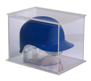 Mini Helmet Display Case Football Baseball Holder Box Ultra Pro NEW