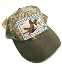 Surf Scoter Duck Stamp Hat U.S. Dept. of Interior Vintage Migratory Bird Cap NWT