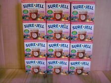 Sure Jell LESS SUGAR Premium Fruit Pectin 1.75 oz Per Box Lot of 24 Exp FEB 2022