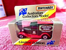 MATCHBOX  LIMITED EDITION 1981  MB 38  FORD MODEL A  [JOHN WEST SALMON] UNOPENED