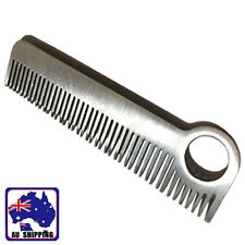 1PC Stainless Steel Tactical Hair Tooth Comb Unisex EDC Pocket Outdoor OKNC54157
