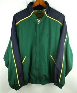 Vintage Prince Full Zip Windbreaker Tennis Jacket Size XL