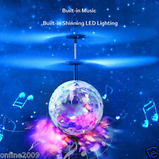 RC Flying Ball Toy Drone Helicopter Ball Built-in Shinning LED Lighting For Kids