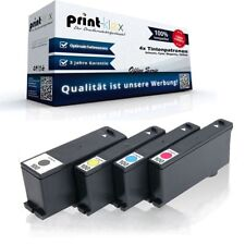 4x Repuesto Cartuchos de tinta para Lexmark s-600-series Tinta Set Office