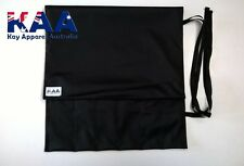 BUTCHERS/CHEFS Black Water Resistant Knife Roll Wrap  *MADE IN KINGAROY QLD*