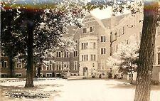 c1940 RPPC Wood Hall Womens Residence Halls Purdue University West Lafayette IN