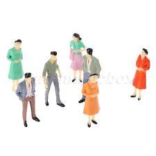 1 100 Scale Train Scenery DIY Diorama Plastic Model Train People Figures 100pcs