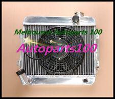 For TOYOTA COROLLA radiator & Fan KE10 KE11 KE15 56mm aluminum Manual