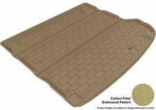 For 2007-2012 HYUNDAI Cargo Liner KAGU Carbon Pattern Tan All Weather Floor Mat