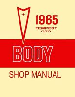 1965 Pontiac GTO Tempest Body ONLY Service Repair Manual Book