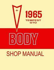1965 Pontiac GTO Tempest Body ONLY Service Repair Manual Book