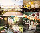 8 x Paper 12CM 20CM 30CM 40CM Lantern Decoration Wedding Party Ball Home Decor