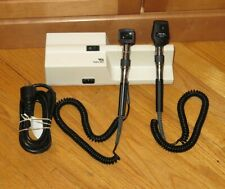 Welch Allyn 767 Wall Mount 3.5v Otoscope 25020 & Ophthalmoscope 11710 - Clean!