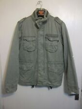 VINTAGE ALPHA INDUSTRIES ISSUE M65 COTTON MILITARY JACKET SIZE M