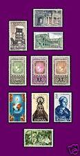ESPAÑA 1965 C  Sellos 1686/8+1689/1+1692+1693/4+1695