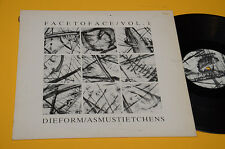 DIE FORM ASMUSTIETCHENS LP FACE TO FACE 1°ST ORIG FRANCIA EX TOP AUDIOFILI