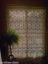 Macrame curtains and room dividers, van, plant hangers, Vintage pattern BOOKLET