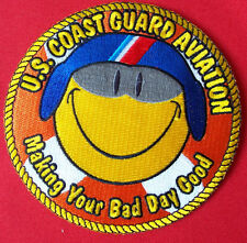 """United States Coast Guard, aviation """"Making your bad day good"""" Dolphin 4-1/2 in"""