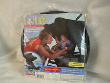 Kiddopotamus Ray Shade Black UV Protective Stroller Shade UPF 50+ NEW