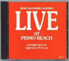 NIGHT BLOOMING JAZZMEN - LIVE AT PISMO BEACH - MINT CD