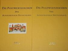 BRD GERMANY 2003 Jahrgang Postwertzeichen Complete Year Set incl. S/S MNH Folder