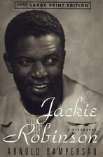 Jackie Robinson: A Biography (Random House Large Print) Rampersad, Arnold Paper